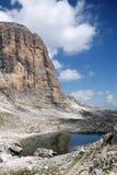 Lac dans les Alpes Image libre de droits