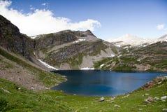 Lac dans les Alpes, Italie Photographie stock libre de droits