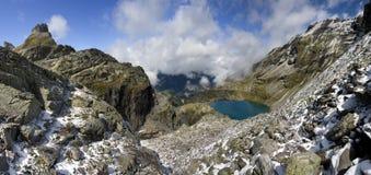 Lac dans les Alpes - Shottensee Images stock