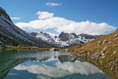 Lac dans les montagnes Image libre de droits