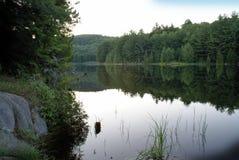 Lac dans Ontario Photo libre de droits