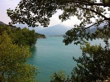 Lac dans Provece Image libre de droits
