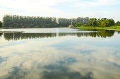 Lac dans silencieux Photo libre de droits