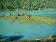 Lac dans Xing Jiang06 Images stock