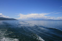 lac de baikal Image stock