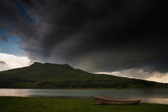 lac de bateau Image stock