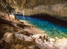 Lac de bleu du Brésil de bonito Images libres de droits