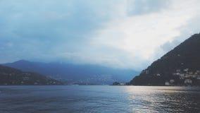 Lac de Côme, Italie banque de vidéos