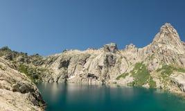 Lac de Capitello near Corte in Corsica Stock Images