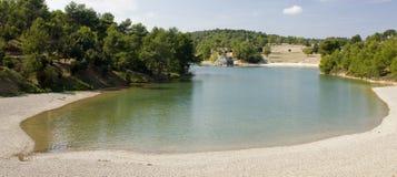 Lac de Cavayere. South France Stock Photo