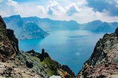 Lac de ciel Photographie stock libre de droits