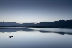 Lac de Codole, долина Reginu в Корсике Стоковые Фото