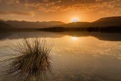 Lac de Codole, долина Reginu в Корсике Стоковые Фотографии RF
