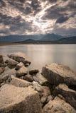 Lac de Codole in Balagne region of Corsica Stock Photos