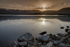 Lac de Codole, Reginu-Tal in Korsika Lizenzfreies Stockfoto
