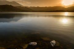Lac de Codole, Reginu valley in Corsica Royalty Free Stock Photos
