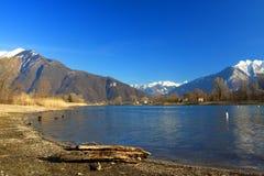 lac de como Photo libre de droits