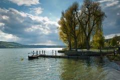 lac de constance scénique Image stock