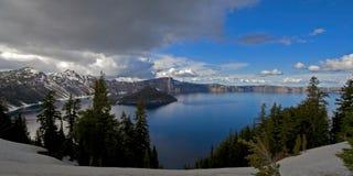 lac de cratère Photo libre de droits