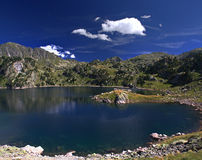 Lac de d'Aran de Val Photo stock
