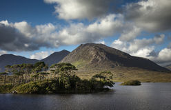 Lac de Derryclare Photo stock