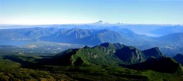 lac de district du Chili Images stock