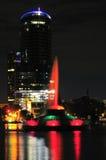 lac de fontaine d'eola Image stock
