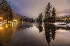 Lac de Gailand, Chamonix Mont Blanc, Γαλλία Στοκ φωτογραφία με δικαίωμα ελεύθερης χρήσης
