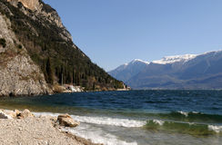 lac de garda photo stock