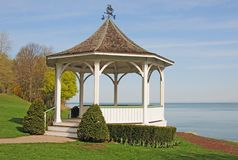 lac de gazebo Photo stock