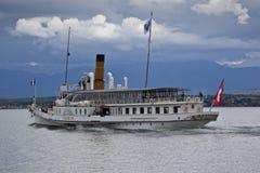 Lac de Genève Stockbild