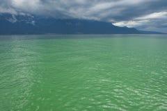 lac de Genève Photo libre de droits