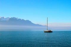 Lac de Genève Images libres de droits