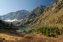 Lac de glace Photographie stock libre de droits