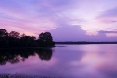 LAC DE GOREWADA, NAGPUR Photo libre de droits