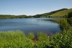 Lac De Guéry, Francja Obrazy Stock