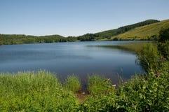 Lac de Gueryy,法国 库存图片