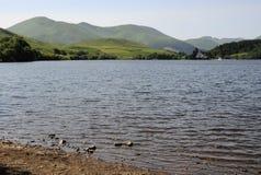 Lac de Gueryy,法国 库存照片