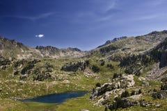 Lac de haute montagne Images libres de droits