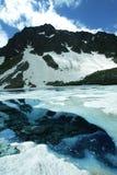 Lac de hautes montagnes Photos libres de droits
