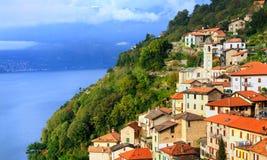 lac de l'Italie de como Photo libre de droits