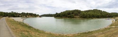 Lac de la Cavayere Stock Photos