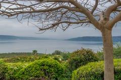 Lac de la Galilée photographie stock