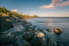 lac de ladoga Photos libres de droits