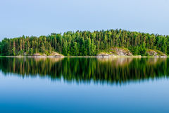 lac de ladoga Images stock