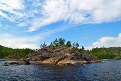 lac de ladoga Photographie stock
