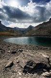 Lac de Lauzanier Photos libres de droits