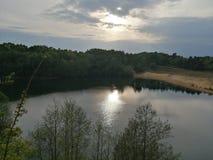 Lac de lumi?re images stock