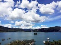 Lac de lune de Sun dans Taiwan Photo libre de droits