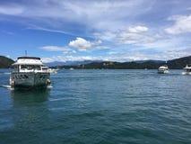 Lac de lune de Sun dans Taiwan Photographie stock
